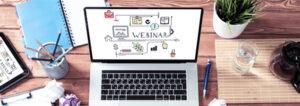 Webinar on Laptop | MPI - Trusted Sales + Marketing Partner